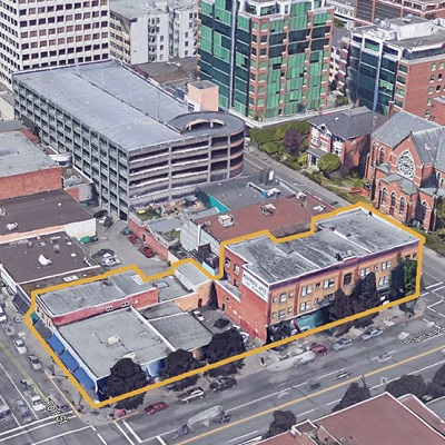 IMAGE: The Blanshard Block in downtown Victoria. (Image courtesy Merchant House Capital)