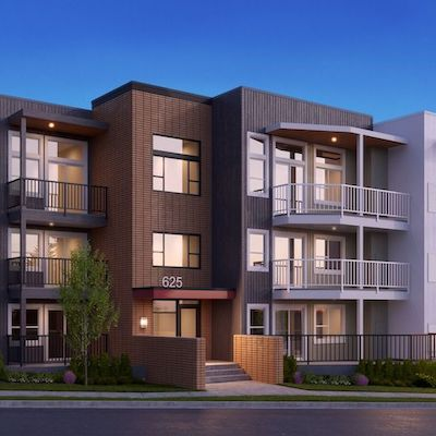 IMAGE: Artist's rendering of the U-Eight condos which will be constructed near UBC Okanagan in Kelowna, B.C., by Mission Group. (Rendering courtesy Mission Group)