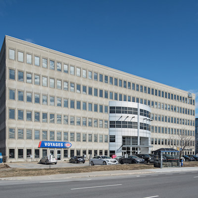 IMAGE: 3131 Saint-Martin West in Laval, Québec, an office building purchased by BTB REIT. (Image courtesy BTB REIT)