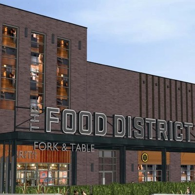 IMAGE: Square One shopping centre in Mississauga will soon open its Food District. (Rendering courtesy Square One)