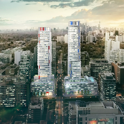 IMAGE: 155 Redpath is one of a half-dozen major Toronto developments in which Capital Developments is either a partner, or the sole developer. (Image courtesy Capital Developments)