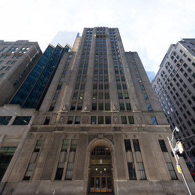 IMAGE: The Canada Permanent Trust Building at 320 Bay Street in Toronto's Financial District. (Image courtesy Menkes)