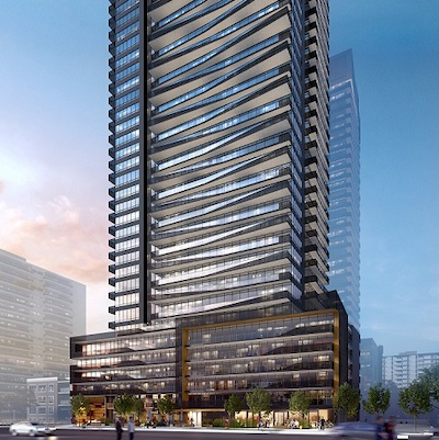 IMAGE: Line 5 Condos in Toronto, being developed by Reserve and Westdale properties. (Image courtesy Reserve / Westdale)