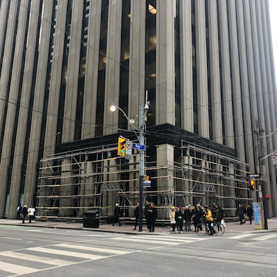 IMAGE: The Munich Re Centre at 390 Bay Street in Toronto. (Image courtesy Crown)