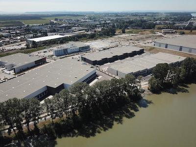 IMAGE: An expansion of the Delta Link Business Park will add 365,000 square feet of industrial inventory to the Vancouver market in 2019.