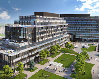 IMAGE: The Valera 1 and 2 condo development, by Adi Developments, in Burlington, Ont. (Image courtesy Adi)