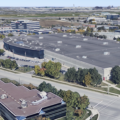IMAGE: 5101 Orbiter Dr., in Mississauga, an industrial property purchased by Summit Industrial Income REIT during 2018. (Google Maps image)