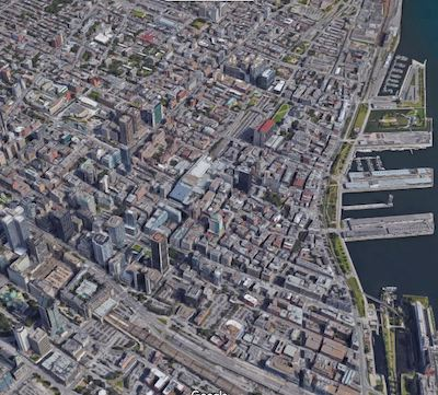 IMAGE: The apartments rental and investment market in Montreal is 'on fire', QAIC panelists agreed. (Google Maps image)