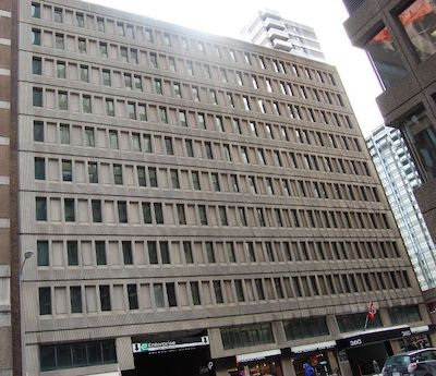 IMAGE: The Narono Building at 360 Laurier Ave. West in Ottawa has been acquired by True North Commercial REIT. (Image courtesy Dream Office REIT)