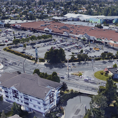IMAGE: Anthem and Crestpoint have purchased the Tillicum Centre shopping mall in Victoria, B.C. (Google Maps image)