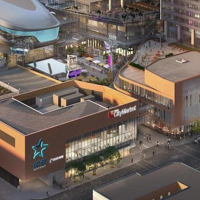 IMAGE: The 22,000-square-foot Loblaw CityMarket will be the first retail anchor at ICE District in Edmonton. The Block BG store will be located at 103 Avenue and 103 Street. (Courtesy ICE District)