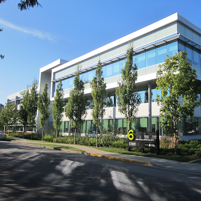 IMAGE: This Shellbridge Way office building is one of 13 Richmond, B.C., office properties being acquired by Fiera Properties' CORE Fund. (Courtesy Fiera)