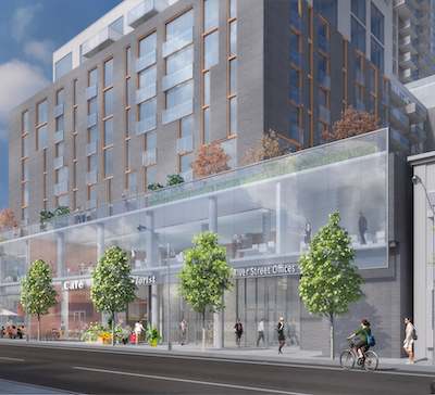 IMAGE: The proposed mixed-use development at 7 Labatt in Toronto. (Rendering courtesy TAS)