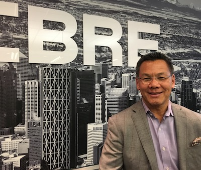 IMAGE: Greg Kwong is the regional managing director for CBRE in Calgary. (Courtesy CBRE)