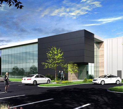 IMAGE: Montoni Group of Montreal is building the two-phase, $6.4-million CentrOparc development in Mascouche that will cover nearly 1.6 million square feet. (Courtesy Montoni)