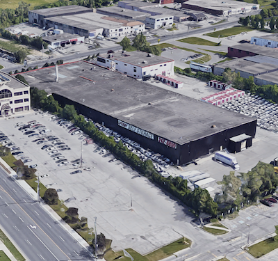 IMAGE: Bluebird Self Storage has . purchased this property at 7 Ingram St., in Toronto. The site will be upgraded and expanded. (Google Street View)