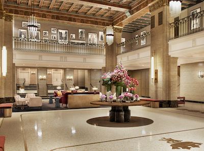 IMAGE: A series of major renovations and refurbishments at Toronto's downtown Fairmont Royal York will come to a close this summer. (Courtesy Fairmont)