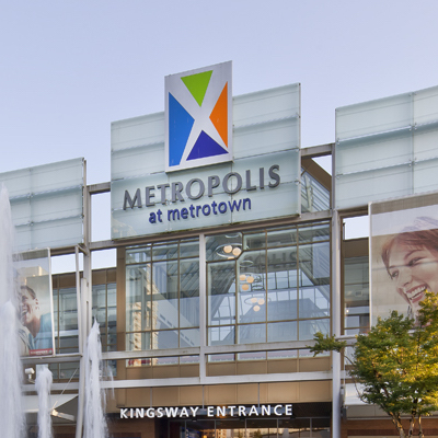IMAGE: Metropolis at Metrotown shopping centre in Burnaby, B.C., owned by Ivanhoé Cambridge. (Courtesy Ivanhoé Cambridge)