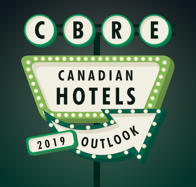 IMAGE: CBRE's Canadian Hotels Outlook 2019.