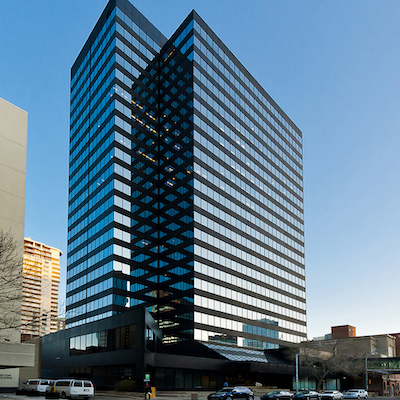 IMAGE: The former Enbridge Place, 103 Street office tower in Edmonton. (Courtesy Epic Investment Services)