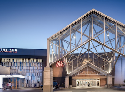 IMAGE: The CF Fairview Pointe Claire mall is already undergoing a series of renovations. The property . will also soon see significant new development. (Courtesy CF)