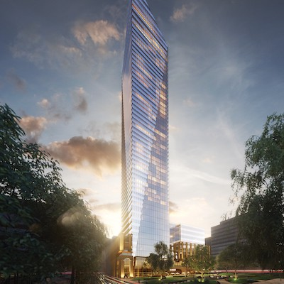 IMAGE: Broccolini's 58-storey Victoria sur le Parc will be one of the developments featured at Montreal du Futur. (Courtesy RJV Communications)