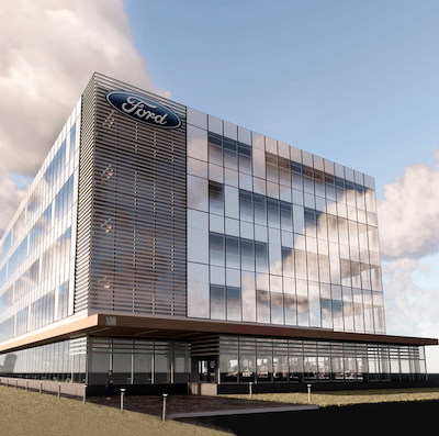 IMAGE: 800 Palladium Drive is a 100,000-square-foot office being built in Ottawa's west-end Kanata district. (Courtesy Cominar)