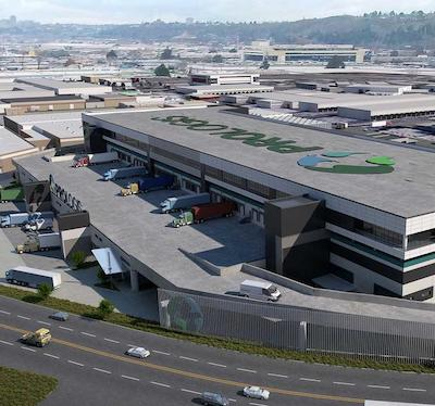 IMAGE: The Prologis Georgetown Crossroads multi-storey distribution centre in Seattle, WA. (Courtesy Colliers)