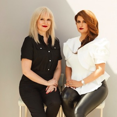 IMAGE: Taya Cook and Sherry Larjani are spearheading Canada's first all-female development team to build Reina condos in Toronto. (Riley Stewart Photography)