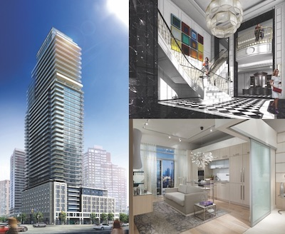 IMAGE: The Britt condos are ready for occupancy after Lanterra Developments' redevelopment of the former Toronto Sutton Place hotel. (Courtesy Lanterra)