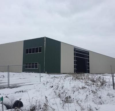 IMAGE: This 20,000-square-foot facility is being constructed for Intravision Greens Niagara, which is one of several new manufacturers and commercial businesses attracted to the City of Welland in the past couple of years. (Courtesy City of Welland)