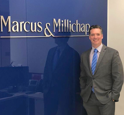 IMAGE: Mark Paterson is vice-president, Toronto regional manager and broker of record for Marcus & Millichap in Canada. (Courtesy M&M)