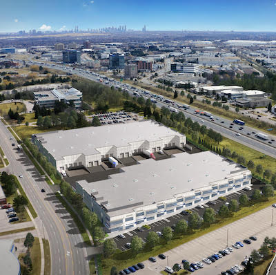 IMAGE: Legacy Business Centre in Mississauga, Ont., is Beedie's first foray into the GTA market. (Courtesy Beedie)