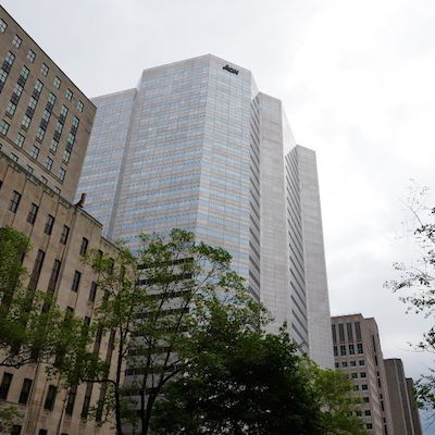 IMAGE: 700 De La Gauchetiere in Montreal has been bought from Dream Office REIT by Allied Properties REIT.