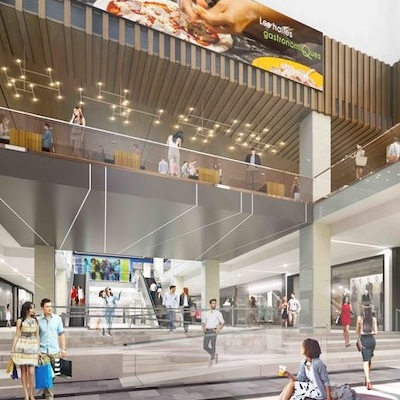 IMAGE: Owner Ivanhoé Cambridge is spending $200 million to renovate and upgrade the Montreal Eaton Centre as part of its Projet Nouveau Centre. (Courtesy Ivanhoé Cambridge)