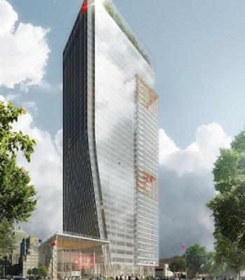IMAGE: National Bank of Canada is building a million-square-foot office tower to house its new HQ in Montreal. (Courtesy National Bank of Canada)