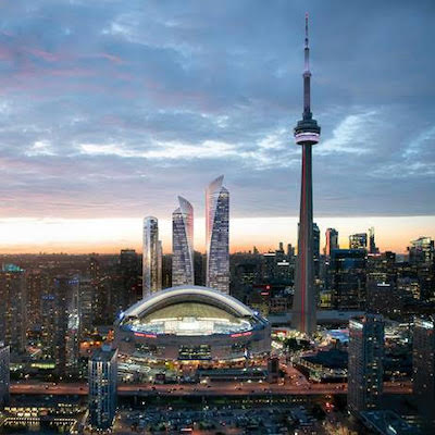 IMAGE: An artist's rendering of the proposed Union Park development in Toronto by Oxford Properties. (Courtesy Oxford)