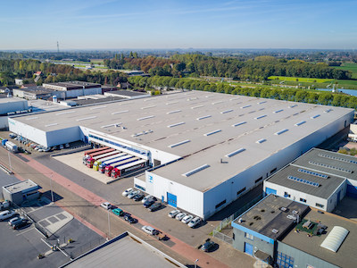 IMAGE: Granite's purchase of this distribution centre at Heirweg 3 Born, Netherlands, is its first since opening an office in the country. (Courtesy Granite)