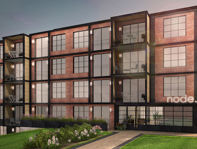 IMAGE: Co-living company Node will build its first Canadian apartment project in Kitchener-Waterloo this fall. (Courtesy Node)