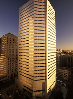 IMAGE: The National Bank headquarters at 600 de la Gauchetière in Montreal is being sold to Kevric Real Estate Corp. (Image courtesy Kevric)
