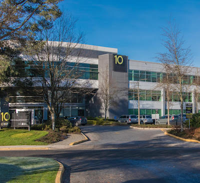 IMAGE: The Richmond Airport Executive Park has capacity for up to 655,000 square feet of additional development, according to new owner Fiera Real Estate. (Courtesy Colliers International)