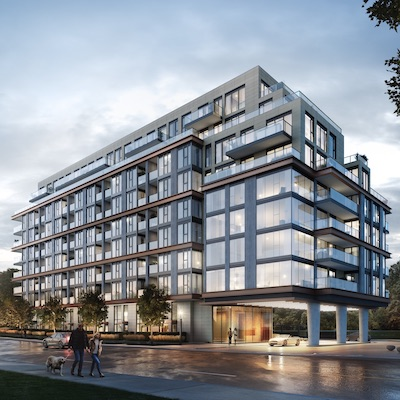 IMAGE: 250 Lawrence is one of several Toronto and Calgary projects under development, or construction, by Graywood. (Courtesy Graywood)