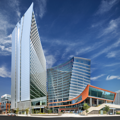 IMAGE: True North Square is a major part of a renaissance of development in downtown Winnipeg's SHED District. (Courtesy True North)