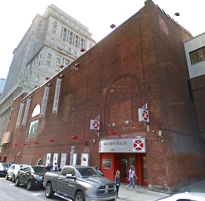 IMAGE: The Mansfield Athletic Club property in Montreal, formerly known as the Loews Theatre, has been purchased by Kheng Ly and Brivia Group. (Google Street View)