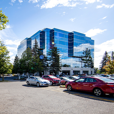 IMAGE: PROREIT is buying two office and industrial properties in Ottawa, adding to a portfolio in the National Capital which already includes this south-end office building at 2 Gurdwara Dr. (Courtesy PROREIT)