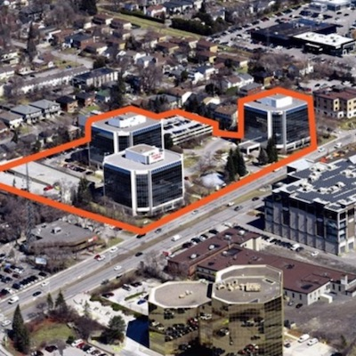 IMAGE: The Carling Executive Park complex in Ottawa, which has been acquired by Crown Realty Partners. (Courtesy Crown)