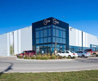 IMAGE: This industrial property in Calgary is part of a 14-building portfolio in which Crestpoint Real Estate Investments has acquired a 50-per-cent interest. (Courtesy Crestpoint)