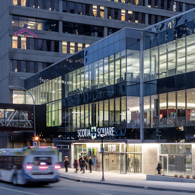 IMAGE: Scotia Square Halifax, owned by Crombie Developments, is a 2019 TOBY Award winner from BOMA Canada. (Courtesy Crombie)