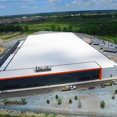 IMAGE: The DC1 data centre in Richmond Hill, Ont., just north of Toronto. (Courtesy Summit, Urbacon)