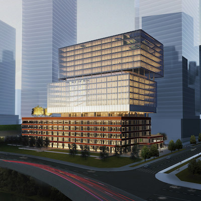IMAGE: The Soap Factory will be the first building redeveloped as part of the Toronto East Harbour project. (Courtesy Cadillac Fairview)